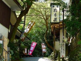 Path toward Shigetsu-den Temple