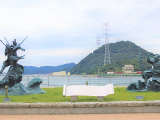 Where the Battle of Dan-no-Ura took place