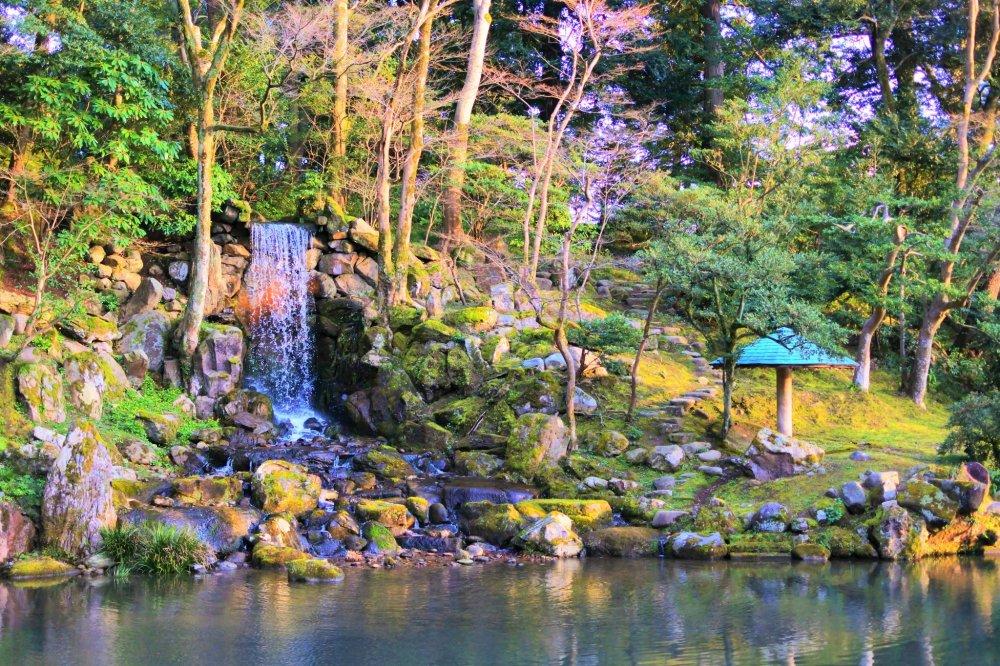 瓢池の景色