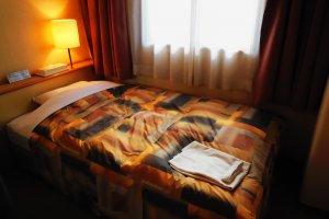 A snug bed