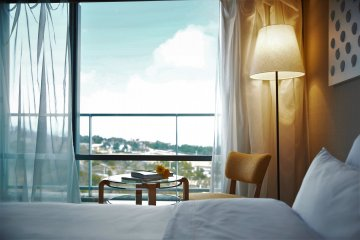 Luxurious bedrooms, all with panoramic views