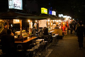 Street food stalls, Fukuoka