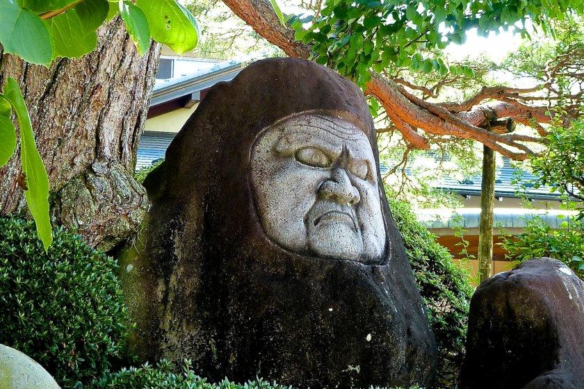 Estátua de Bodhidharma(Daruma-ishi)