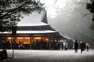 Ise-jingu Shrine, Mie
