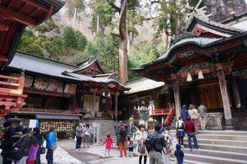 Haruna Shrine is a great power spot