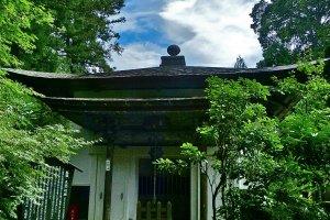 Sala Kyozo (armazém de livros de Budismo)