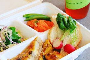 The quiche to-go lunch option