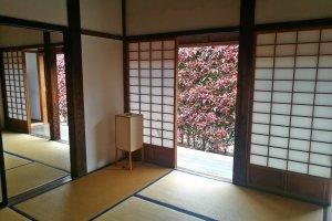 Inside a tatami room