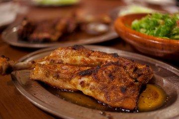 Honetsuki tori chicken