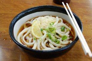 Sanuki udon noodles