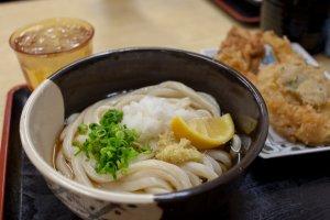 Sanuki udon noodles from Kagawa