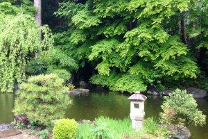 The secret garden of Yoshimine Temple