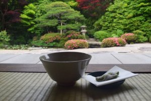 Stop for some tea at Gesshoji Temple!
