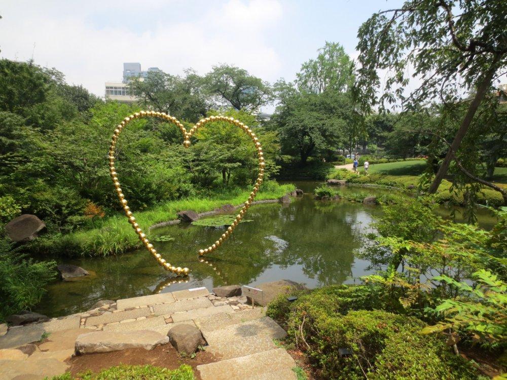 Come relax in the peaceful Mori Garden