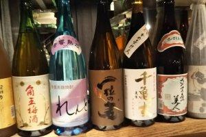 Variety of sake.