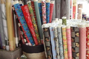 Washi would make a nice gift for someone or just as a treat to yourself! It can be used on lampshades, as a place mat, and as a book cover. Why not be creative and see how else you can use it!