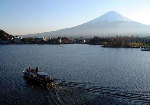 浪漫多情的小舟,摄于カチカチ山