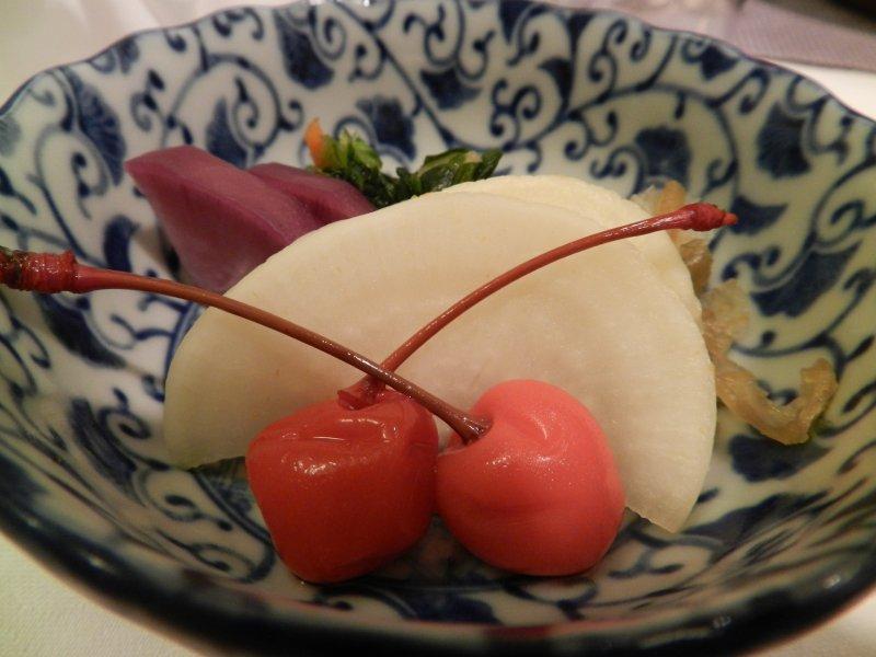 Yamagata's signature cherries.