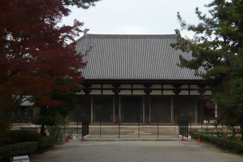Le Kondō, ou le« pavillon doré »