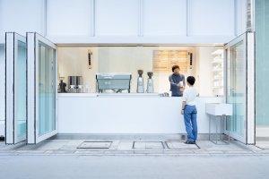 Yokohama Blue Bottle Cafe Stand