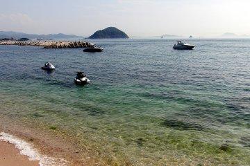 Clear, clean sea