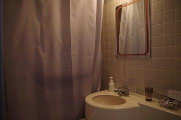 Bathroom in single room