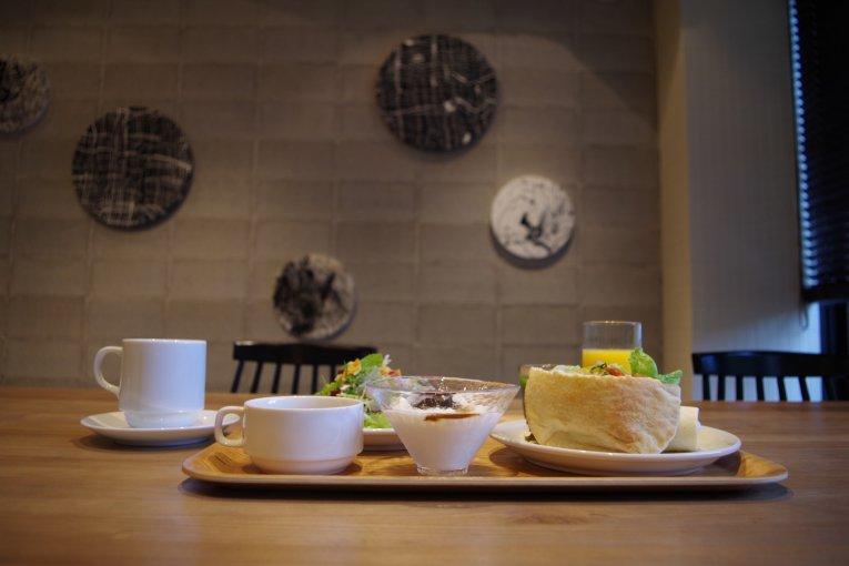 อาหารเช้าที่โรงแรมแอนเตรูม เกียวโต