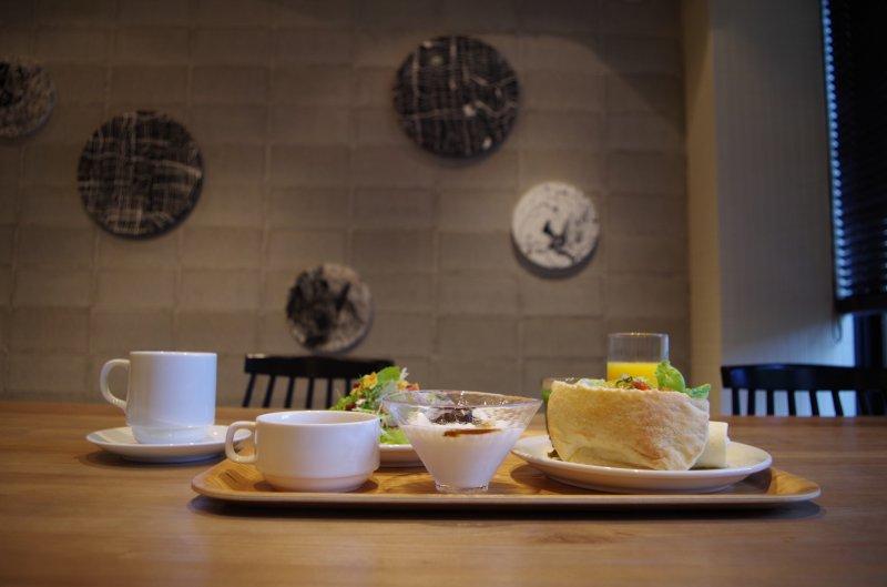 <p>Breakfast at Hotel Anteroom Kyoto</p>