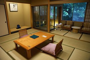 A stunning ryokan room is just a click away
