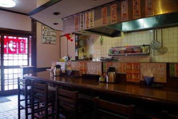 Bar near the entrance
