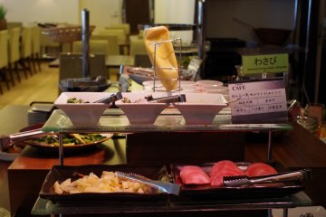 <p>Kyoto style toppings</p>