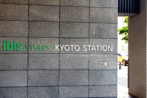 The first Accor Hotel in Kyoto, the Ibis Styles Hotel next to Kyoto Station