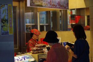 551 Horai is a popular take away snack for locals and visitors alike