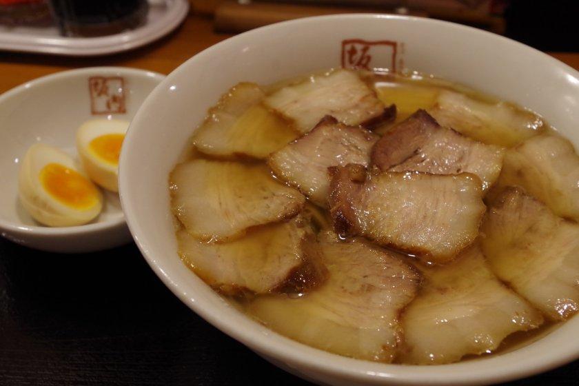 Grilled pork ramen