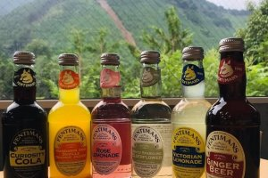 The selection of Fentimans drinks available