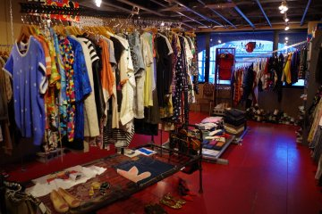 Dorama Vintage Boutique in Kyoto is full of one of a kind designs