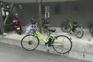 A free electric bike for rent