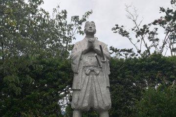 The leader of the rebellion, Amakusa Shiro
