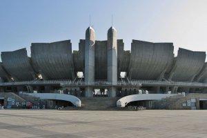 The Olympic Stadium in Nagano