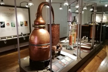 One of the steam distillation machine examples
