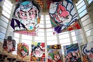 Inside the Shirone Kite Museum