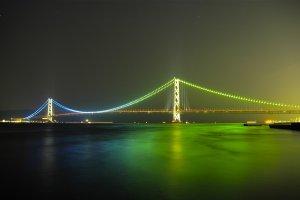 The Akashi Strait Bridge