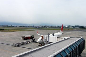 Matsuyama Airport in Ehime