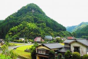 The scenery around Minshuku Fuchinoue