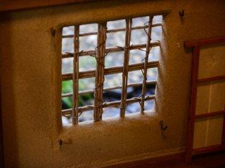 대나무로 만들어진 창