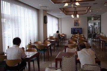 <p>ห้องทานอาหารเช้า</p>