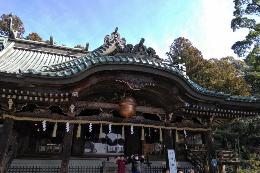 The Triumphant at Tsukuba Shrine