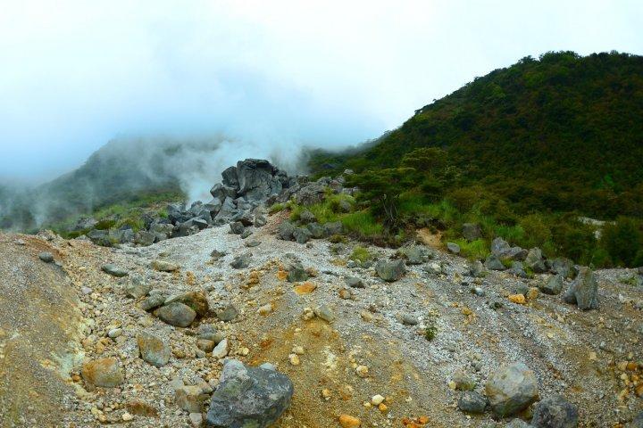 Owakudani Volcanic Area