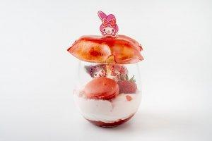 Piano Strawberry Luxury Parfait - 1480 yen