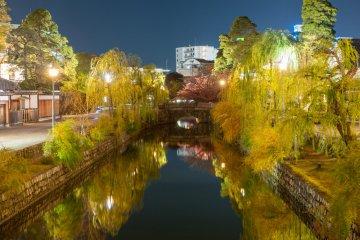Прекрасные ночные пейзажи в Курасики